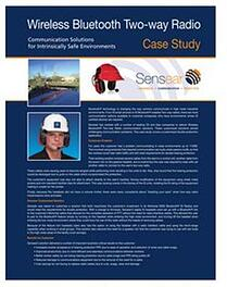 Oil and Gas Bluetooth IS Case Study